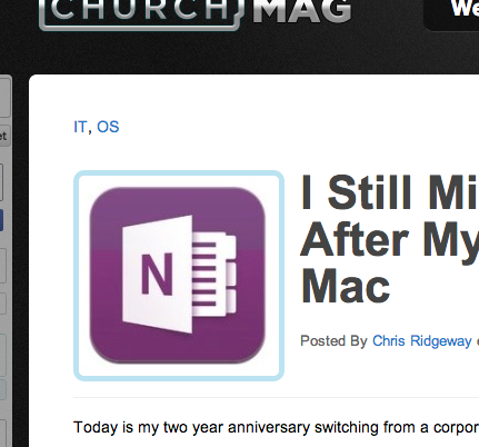I Still Miss OneNote After My Switch to Mac
