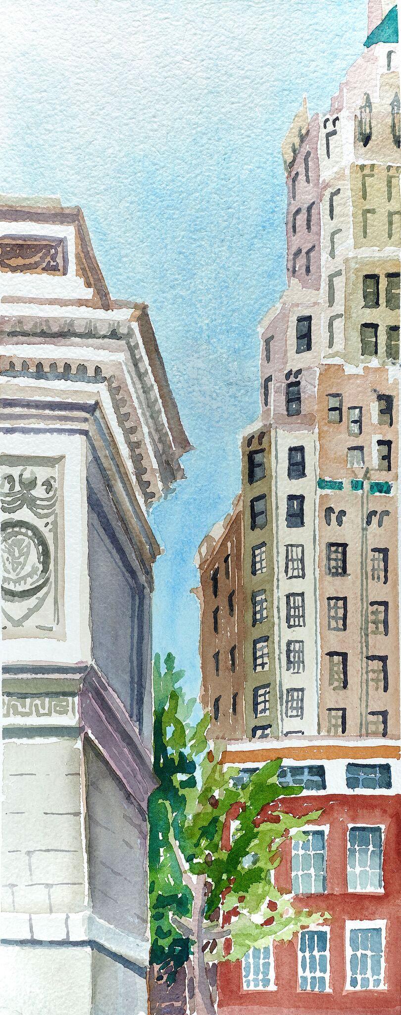 Washington Square Arch, 2016