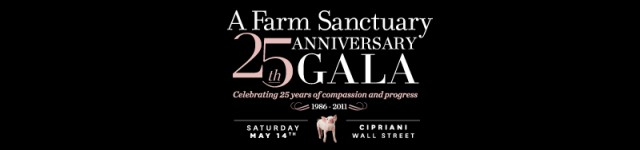 Farm Sanctuary 25th Anniversary Gala, Enforced Arch
