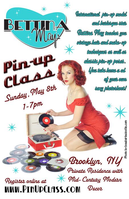 Bettina May, Pin-Up Class