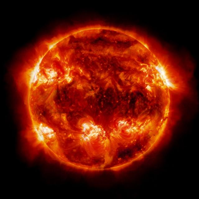 Sun, Enforced Arch