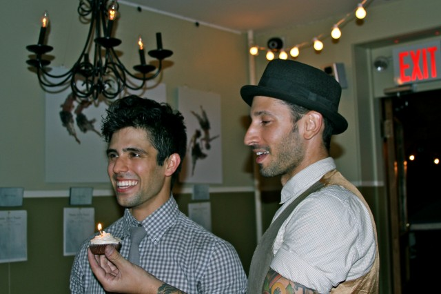 James Koroni's Birthday & Fundraiser, Joshua Katcher