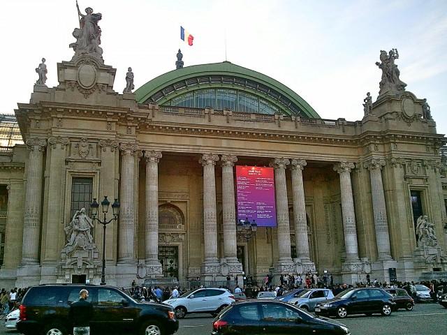 Grand Palais, Enforced Arch