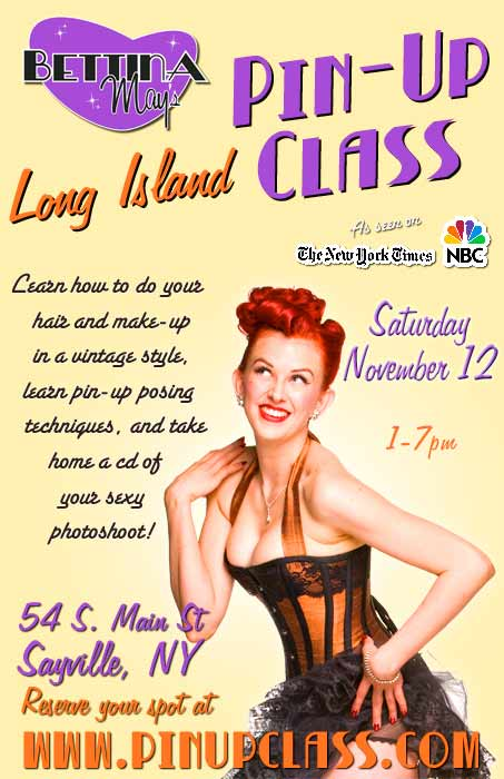 Bettina May Pin-Up Class, Enforced Arch
