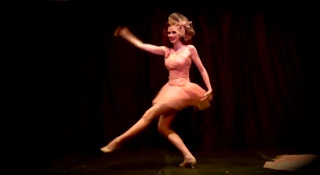 Peach Ballerina Bettina May, Enforced Arch