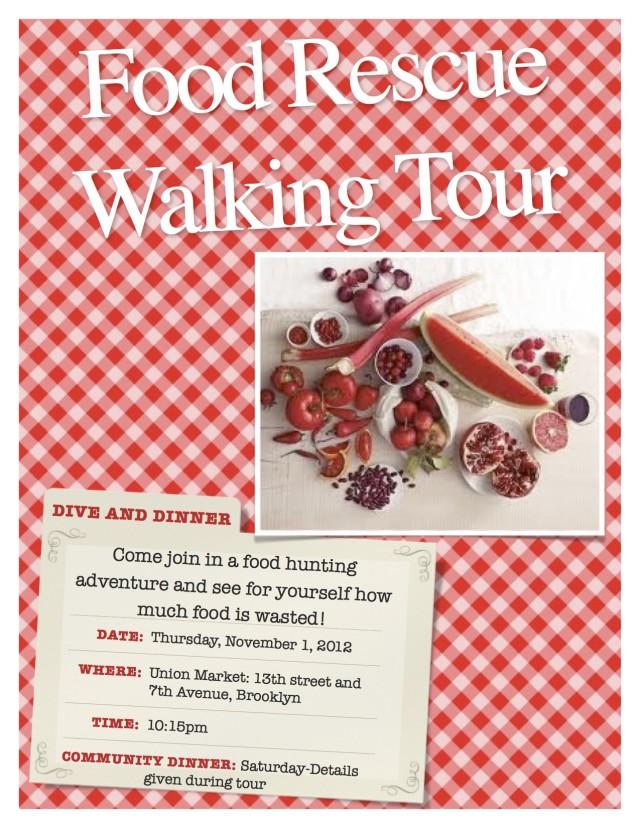 Food Rescue tour #2, Kathleen Stansell