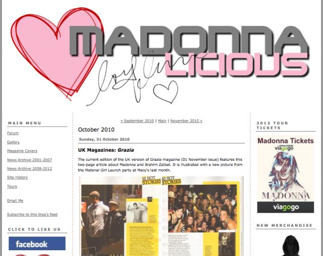 - Creator, James Koroni danced for Madonna.