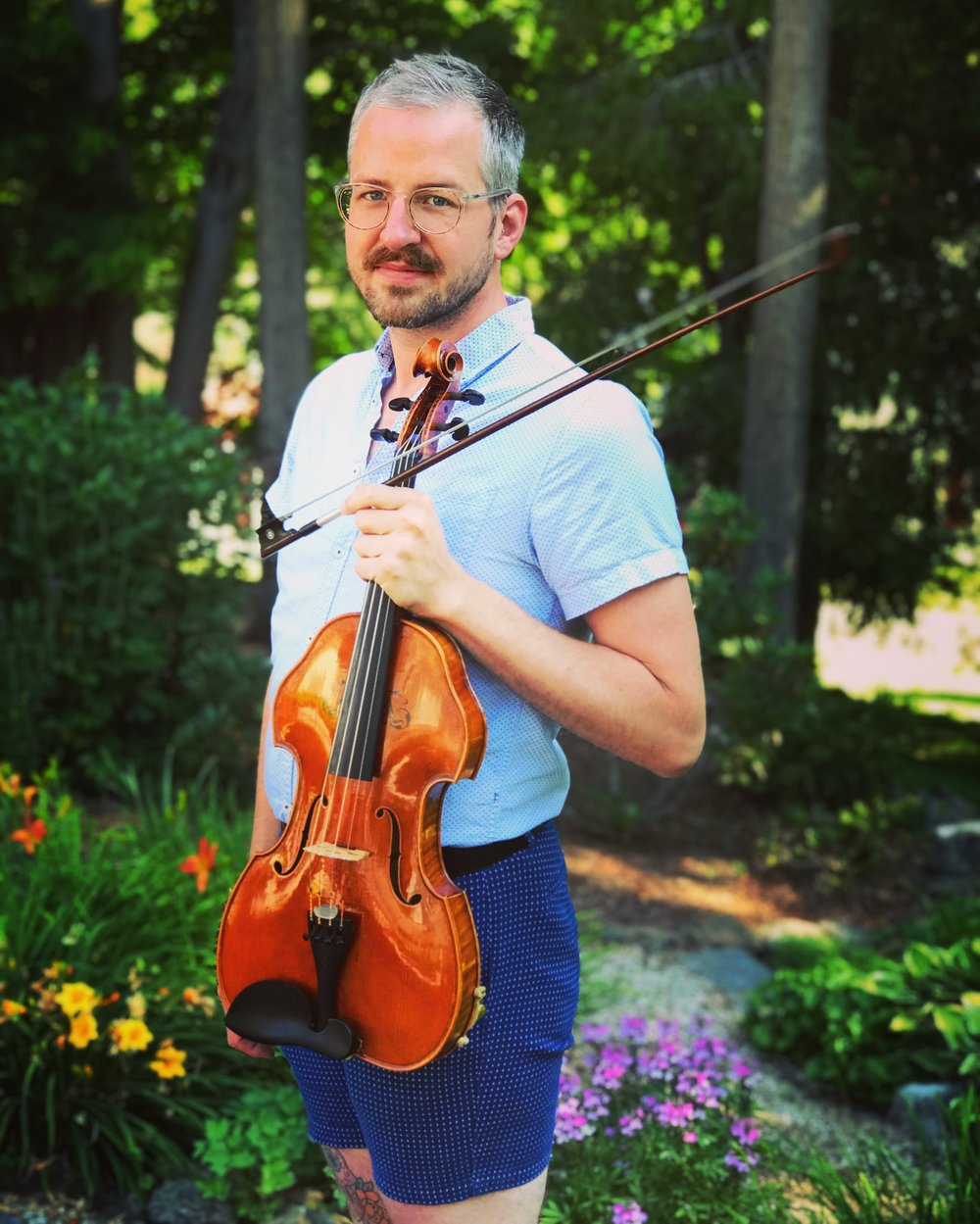 "Samuel Kelder - Described as ""dynamic and committed"" by the Boston Globe, violist Sam Kelder performs regularly in New England as guest artist with ensembles A Far Cry, Boston Modern Orchestra Project, Guerilla Opera, Callithumpian Consort, Sound Icon, and various regional symphony orchestras including Cape Cod Symphony, Cape cod chamber orchestra, Rhode Island Philharmonic, Phoenix Orchestra Reborn, and the New Bedford Symphony. Kelder recently joined the Boston based string trio Sound Energy, an ensemble dedicated to searching for ways to push the traditional violin-viola-cello combination to represent the bold and daring voices of 20th- & 21st-century composers. In addition to local projects, Kelder has also performed as the featured artist at Third Practice Electroacoustic Festival, as soloist at New York City Electroacoustic Music Festival, and as guest artist with the Arctic Philharmonic in Norway. His studies yield a B.M. from the University of Houston, M.M. from Mannes the New School for Music, and graduated May 2017 from doctoral studies at Boston University as teaching assistant to Michelle LaCourse. Other major teachers and influences include Wayne Brooks, Karen Dreyfus, Kyung Sun Lee, Laurie Smukler, and Bayla Keyes. Sam has had the great fortune to work with many prominent living composers such as Hans Abrahamsen, Derek Bermel, William Bolcom, Anthony Cheung, Chaya Czernowin, Zosha Di Castri, Péter Eötvös, Michael Finnissey, Luca Francesconi, Beat Furrer, Georg Friedrich Haas, John Harbison, Heinz Holliger, Philippe Leroux, Nico Muhly, Olga Neuwirth, Krzysztof Penderecki, Matthius Pintscher, Roger Reynolds, Joan Tower, and Eric Wubbles. Sam can be heard on Not Art Records, and is an artist member of Music for Food, a musician-led initiative to fight hunger in our home communities"