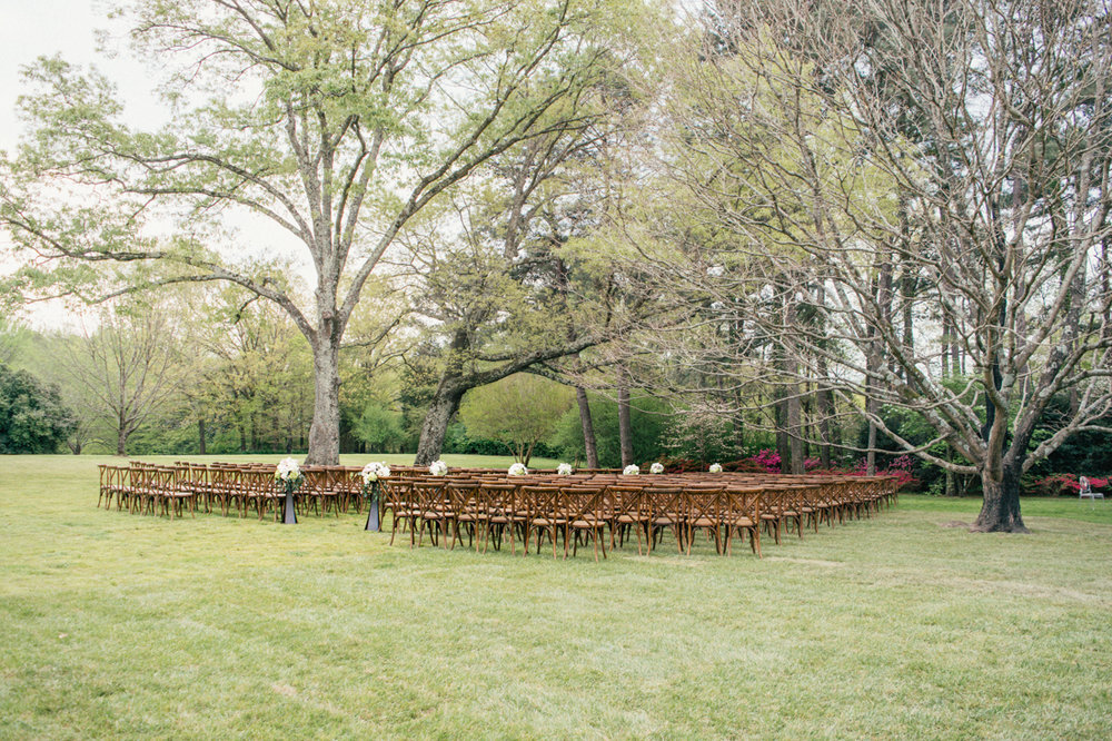 outdoor wedding x back chair