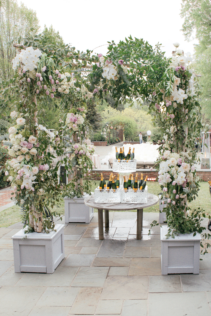 champagne display wedding grey planter boxes.jpg