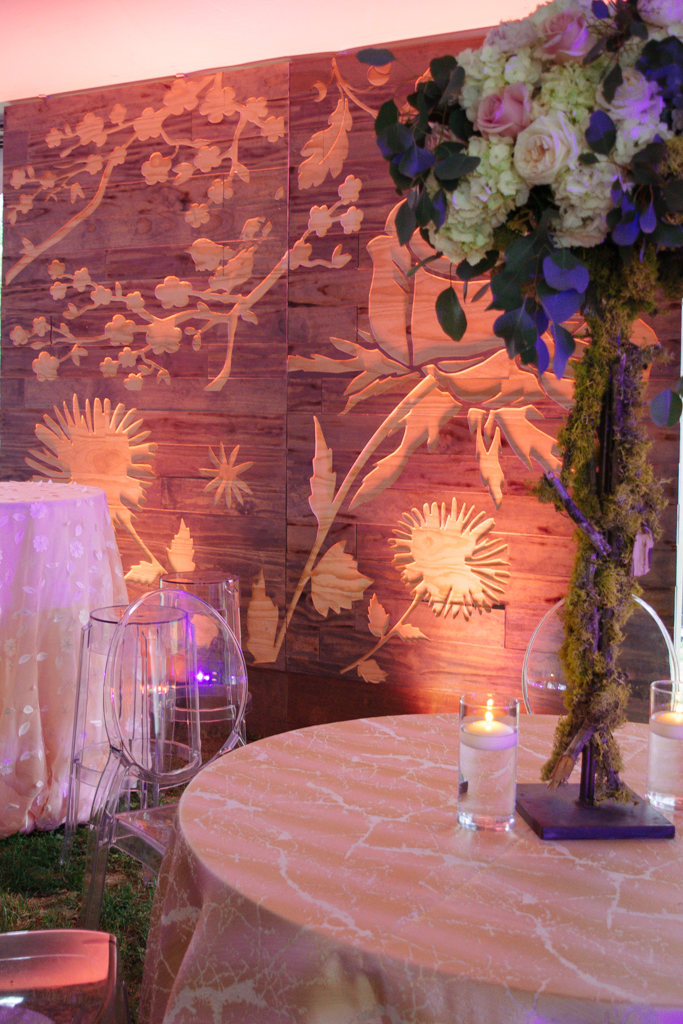 custom wedding design carved floral wall pink wedding.jpg