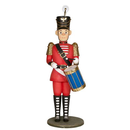 Toy Soldier Drummer White Door Events