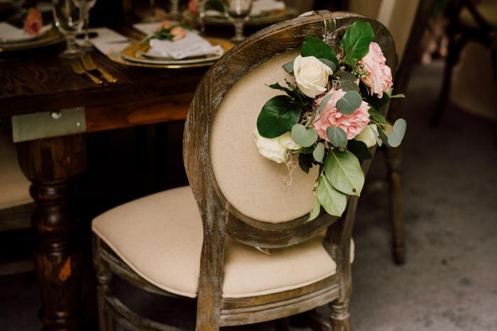 linen chair, side chair, medallion chair, florals