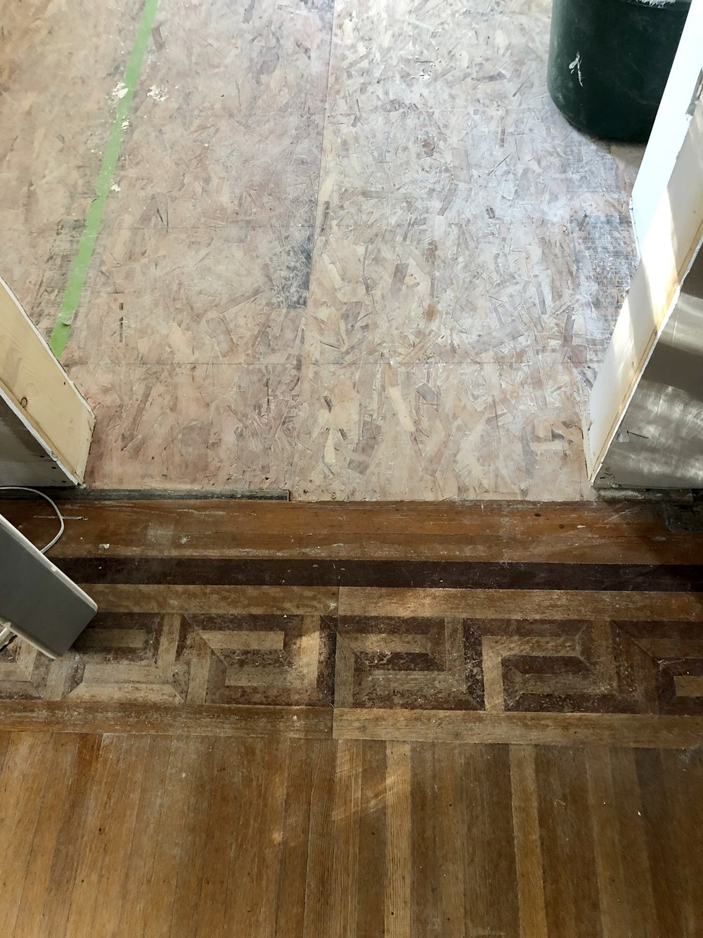 New Floor - OLD FLOOR