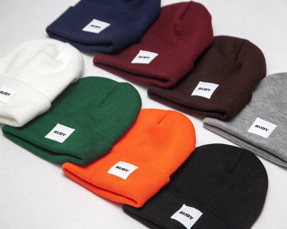 White Label Beanie
