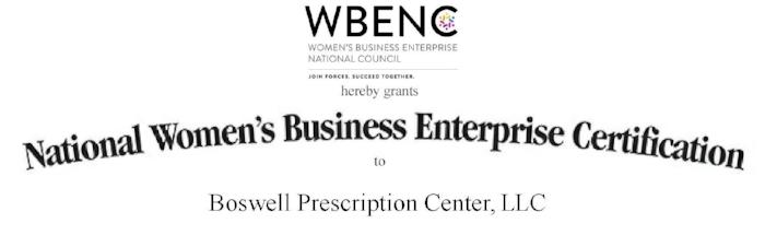 Boswell Prescription Center -  WBENC Certificate exp 10-3-19 WBENC.jpg