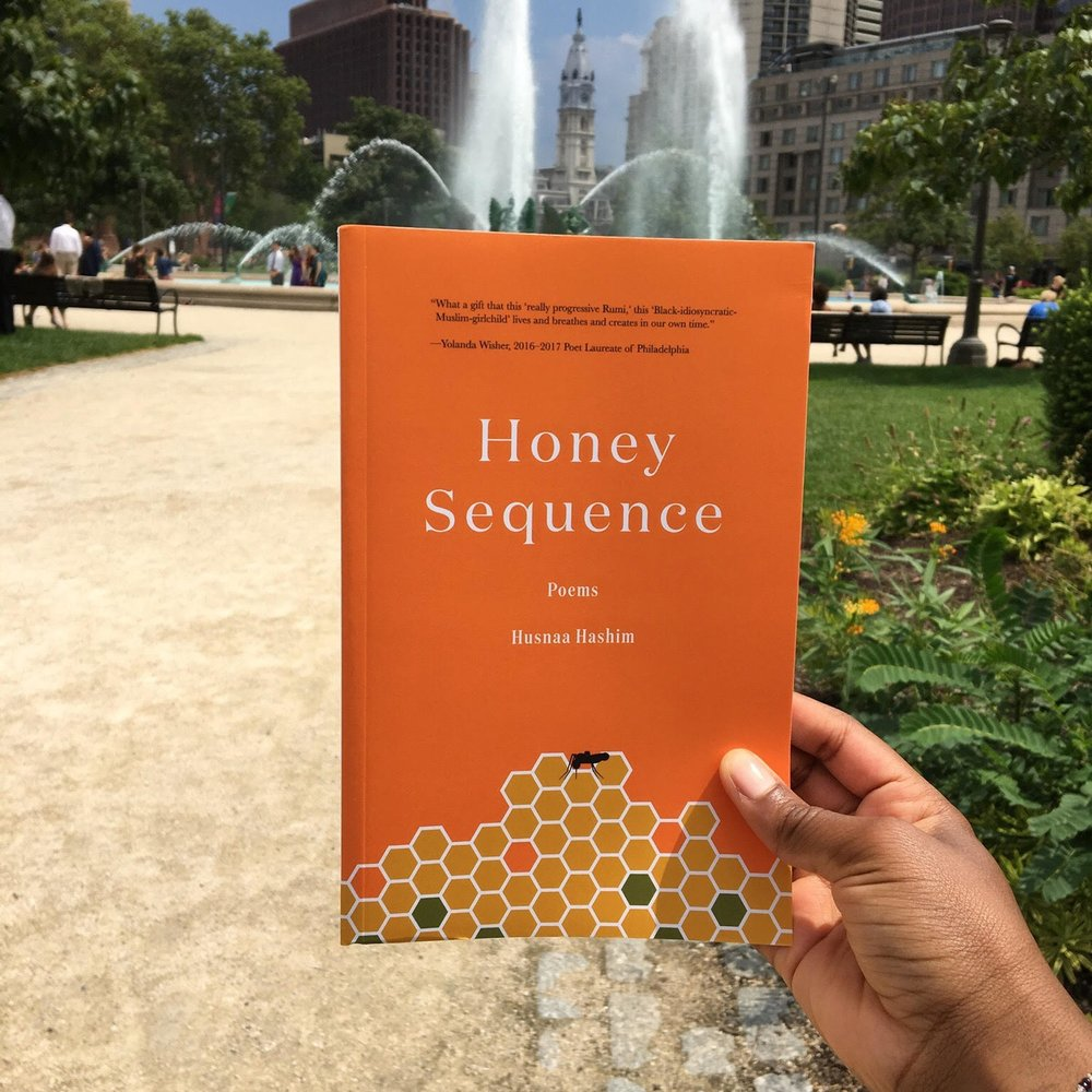 Youth Poet Laureate of Philadelphia  Husnaa Hashim 's debut chapbook collection,   Honey Sequence   ,  was just published by The Head & The Hand Press in collaboration with the Free Library of Philadelphia.
