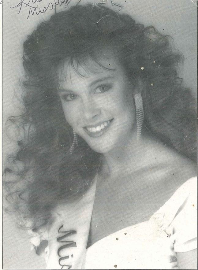 Kristina Panek, Miss Vista 1990