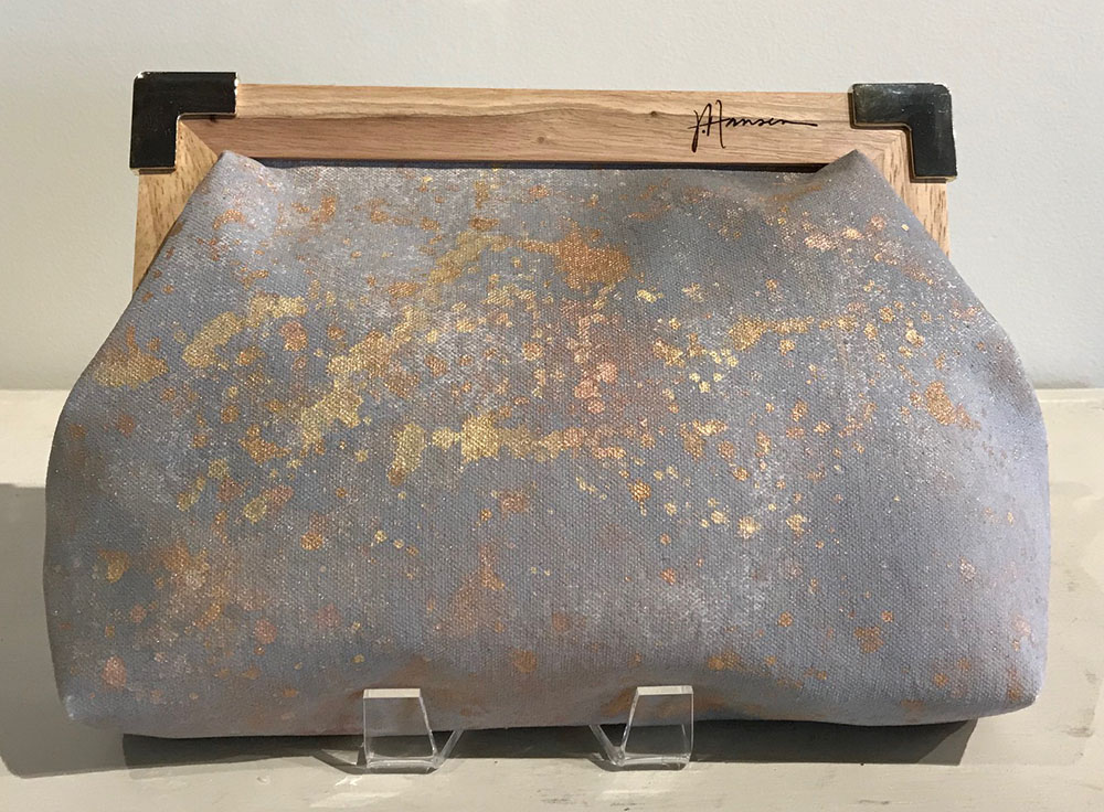 SOLD 17-24720 Hansen Clutch Handbag 12x8 acrylic on canvas.jpg