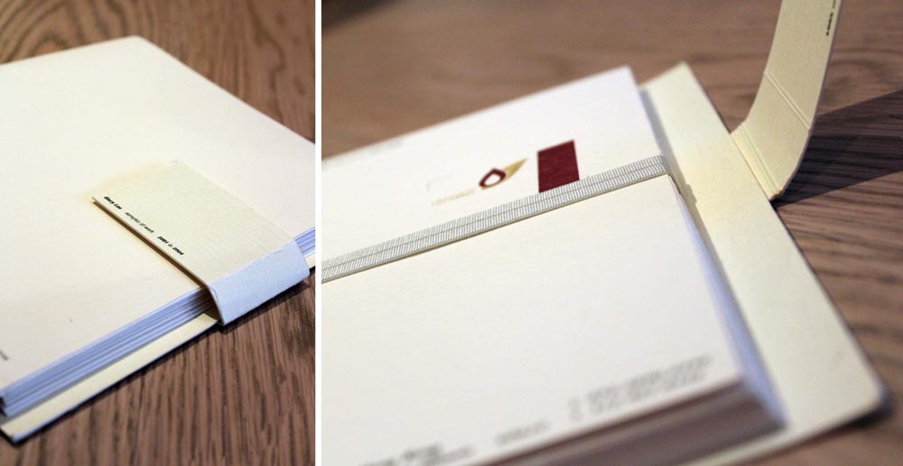 the little hand-mounted booklet