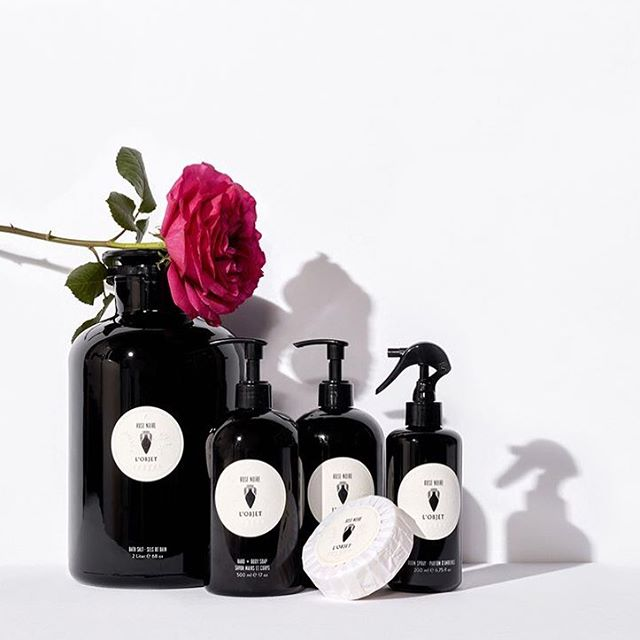 Stop by Black Bough Laguna and smell the roses 🌹Rose Noire Room Spray from @lobjet pairs rose with pimento berry and white pepper.