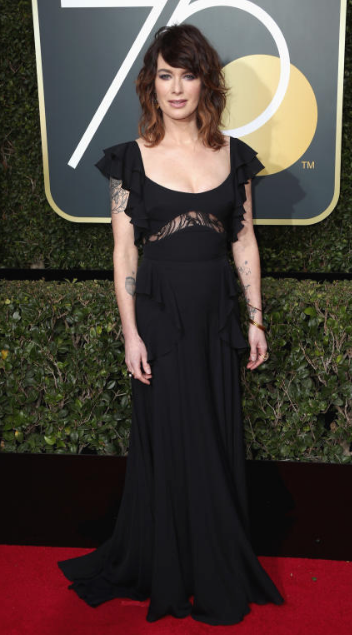 Lena Headey: 2018 Golden Globe Awards