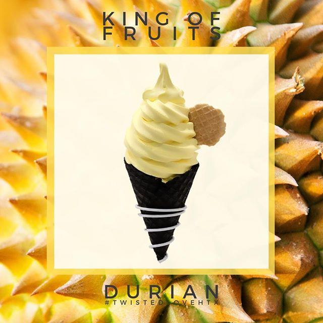By popular demand...⠀ The King is back!⠀ ⠀ ⠀ #kingoffruits #duriansoftserve #softserveicecream #softservecone #softservesociety #houstonfoodguide #houstonfoodies #houstonchinatown #dessertfeed #htxeats #houstonfood #houstoneats #icecream #htownfoodie #durian #houstonfoodguide #softservesociety #twistedlovehtx
