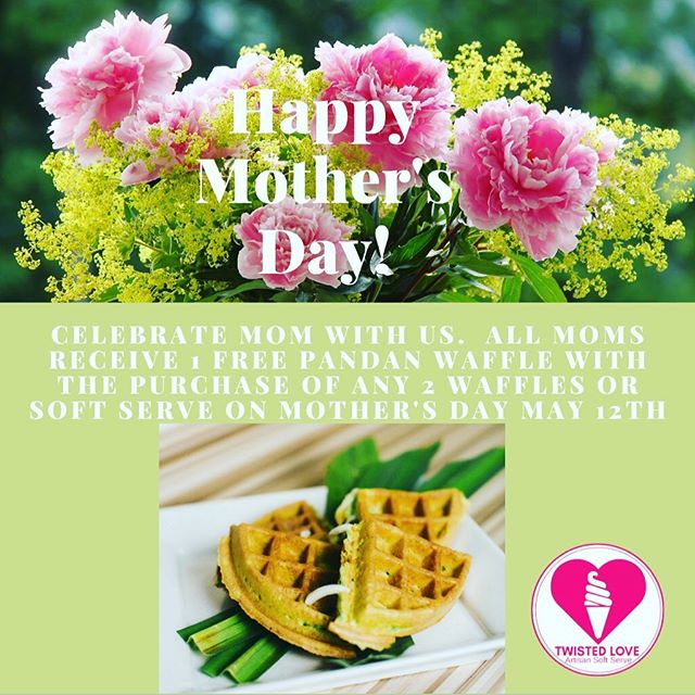 """To the world you are just a person, but to a person you are the world"" ~ Author Unknown.  A special thank you to all the mom's who support us.  Happy mother's day to all the mom's that inspire us from Team Twisted Love. May your day be filled with lots of love! 💐💝"