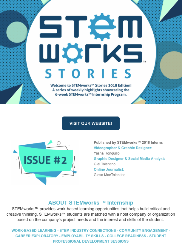 STEMworks™ Stories e-newsletter - Issue 2