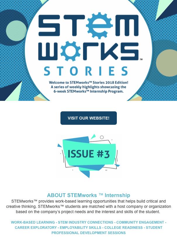 STEMworks™ Stories e-newsletter - Issue 3