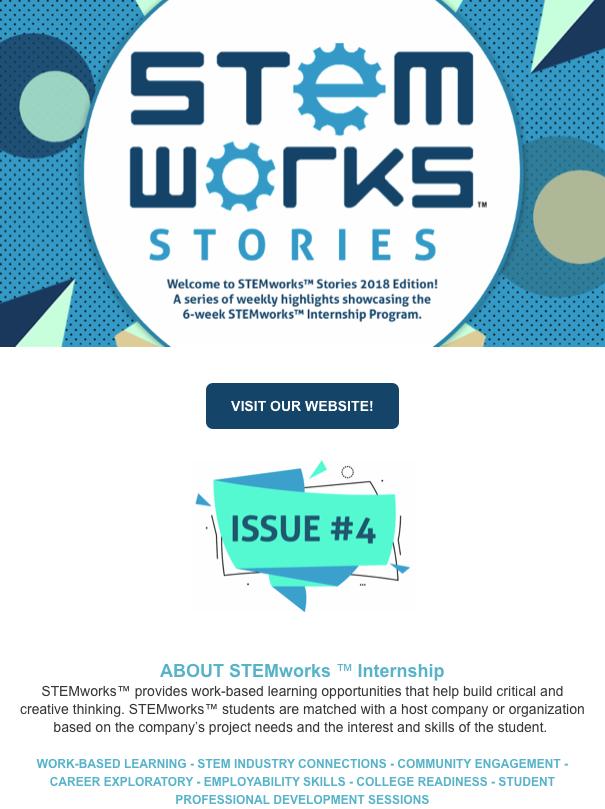 STEMworks™ Stories e-newsletter - Issue 4