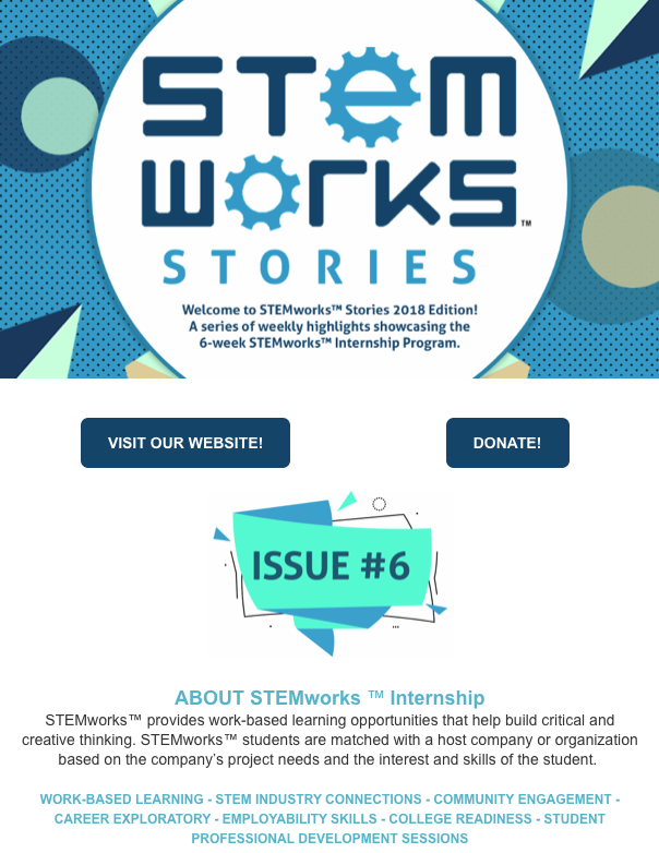 STEMworks™ Stories e-newsletter - Issue 6