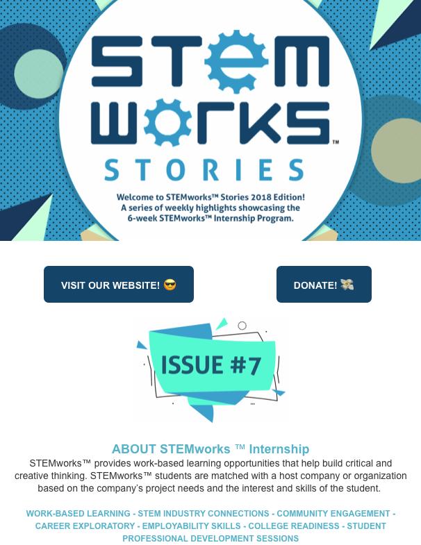 STEMworks™ Stories e-newsletter - Issue 7