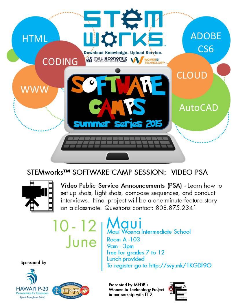FLYER_MAUISoftwareCamp_summervideopsa_2015.jpg