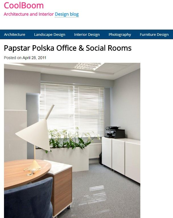 CoolBoom:: Papstar Office