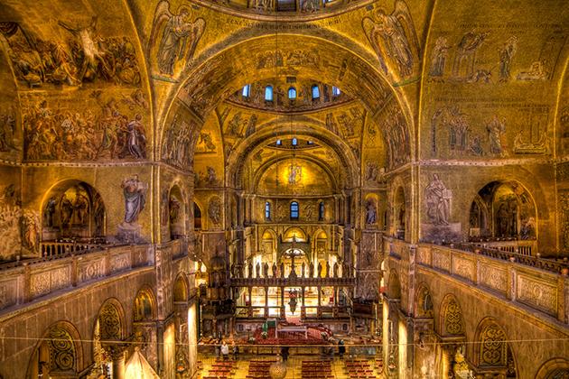 Choir lofts at St. Mark's Basilica, Venice
