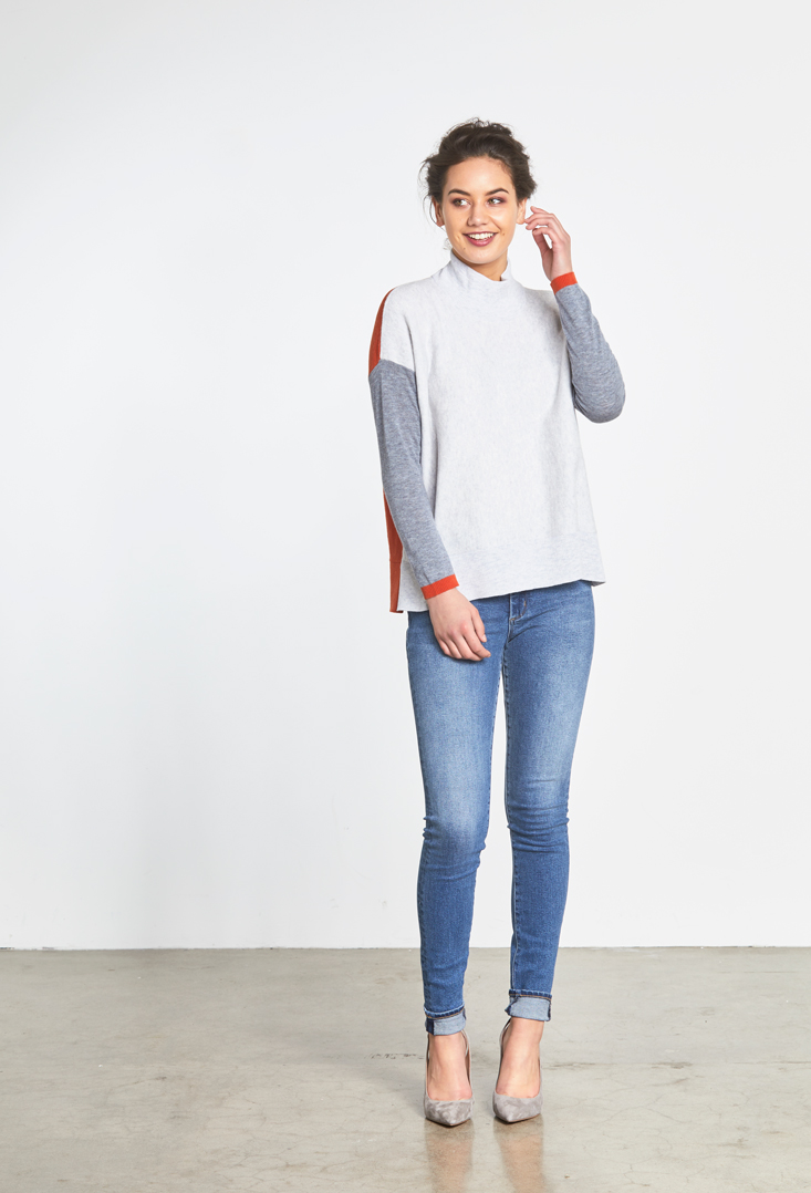 Colour Block Toni Roll Neck Front.jpg