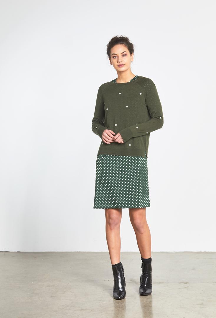 Fluffy Polka Dot Sweater Maddison Dress.jpg