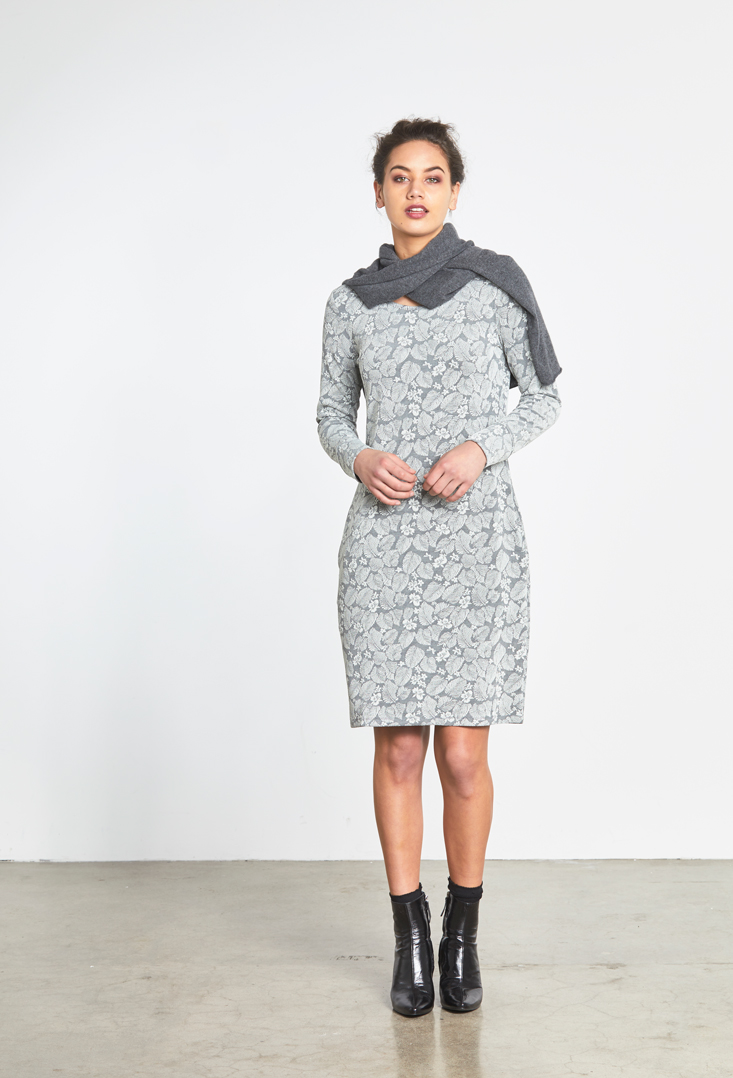Texture Dress Silver Leaf.jpg
