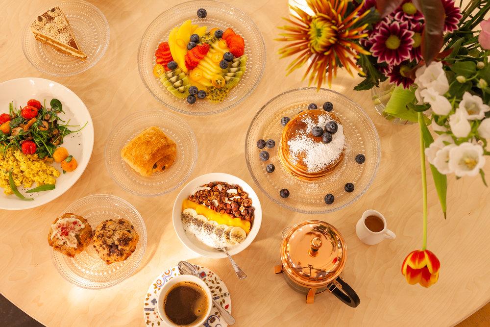 ontbijt brunch lunch - heel de dag door
