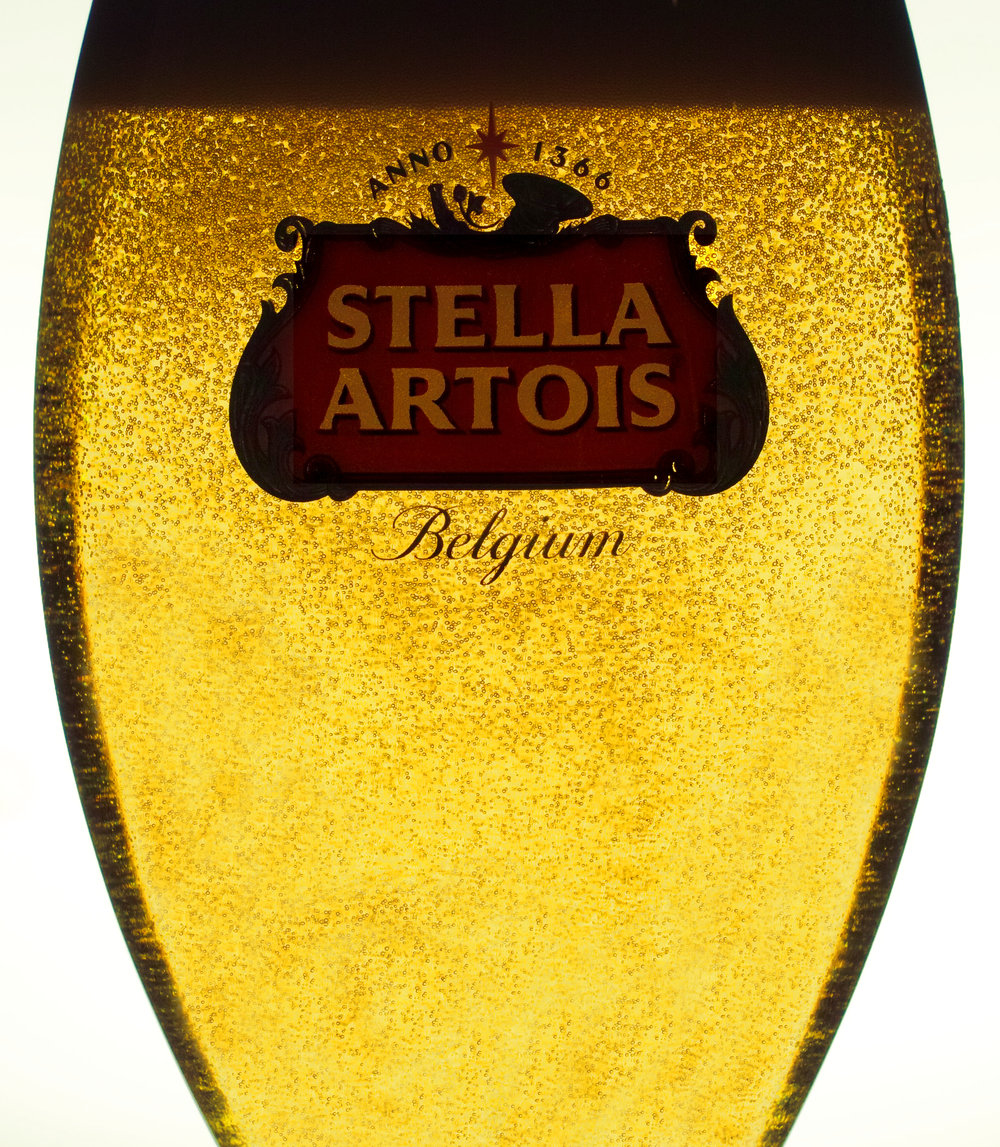 Stella Artois Belgium Beer