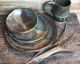 Rustic Dinnerware