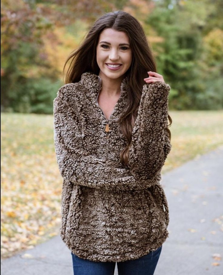 Simply Southern Sherpa pullovers