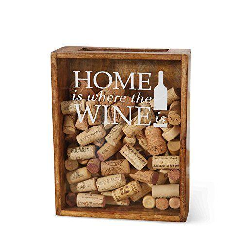 Mud Pie wine cork boxes