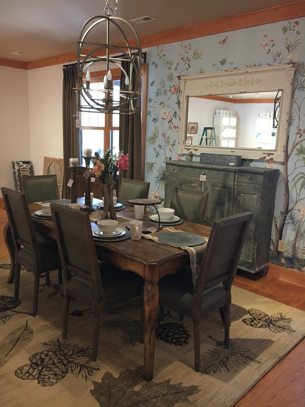 Distressed Dining Tables & Chairs