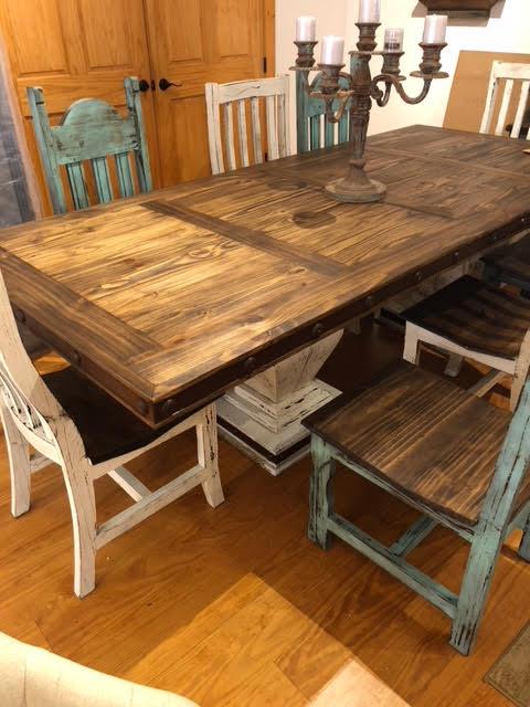 Farm Table & Chairs