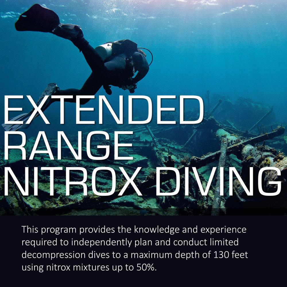 Extended Range Nitrox Undersea Outfitters