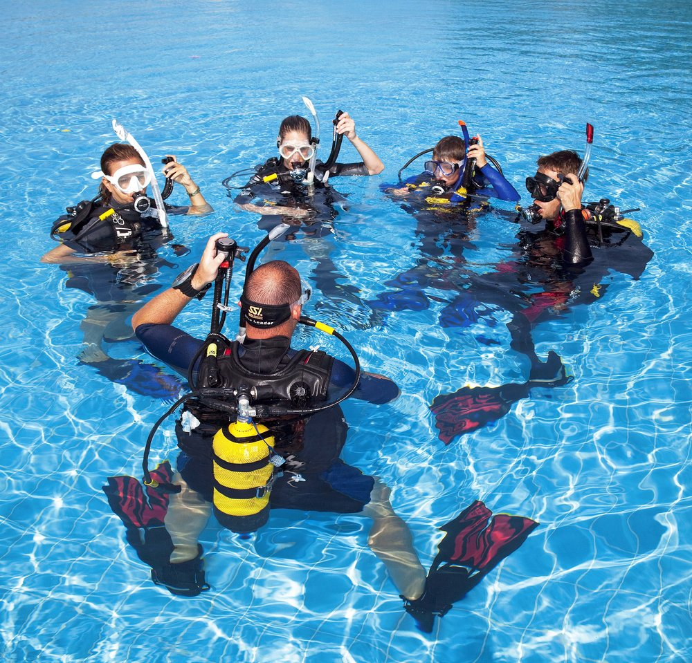 Click the image to register for your free training login and take the first step to becoming a Certified Scuba Diver!