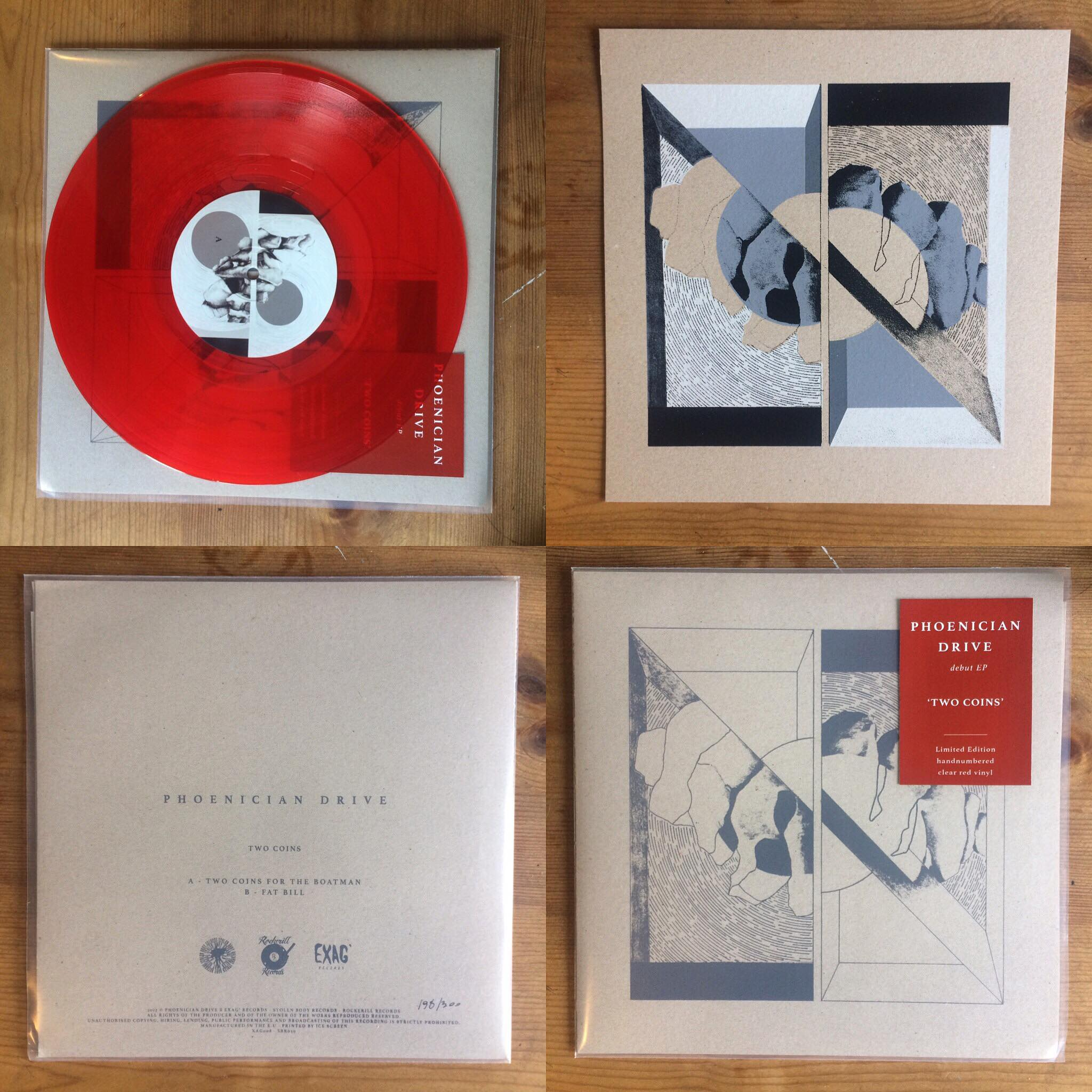 Phoenician Drive - Two Coins red vinyl