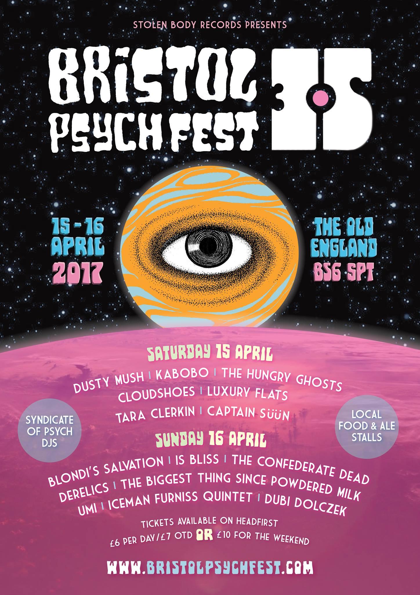 Bristol Psych Fest 3.5